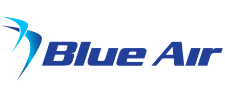 Logo of Blue Air (Romania)