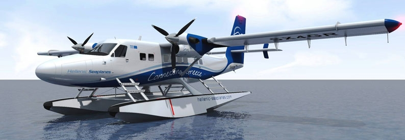 Illustration of Hellenic Seaplanes DHC-6 TwinOtter