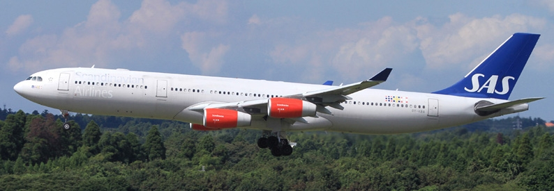 SAS Scandinavian Airlines Airbus A340-300