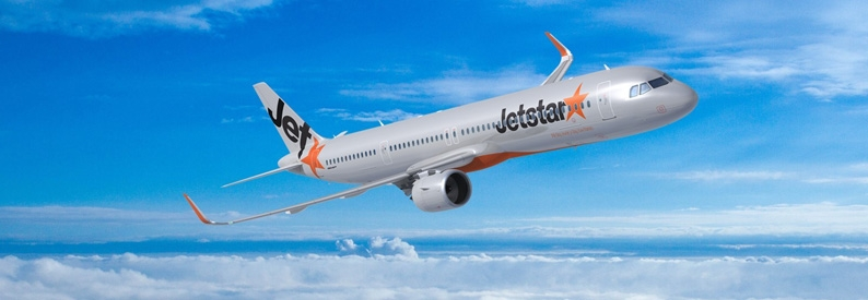 Illustration of Jetstar Airways Airbus A321-200N