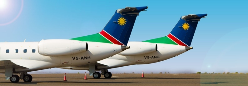 Air Namibia Embraer ERJ 135 Tails