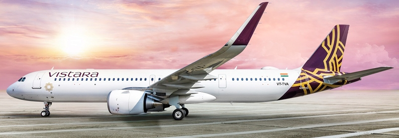 Illustration of Vistara Airbus A321-200NX