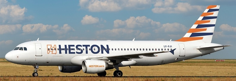 Illustration of Heston Airlines Airbus A320-200