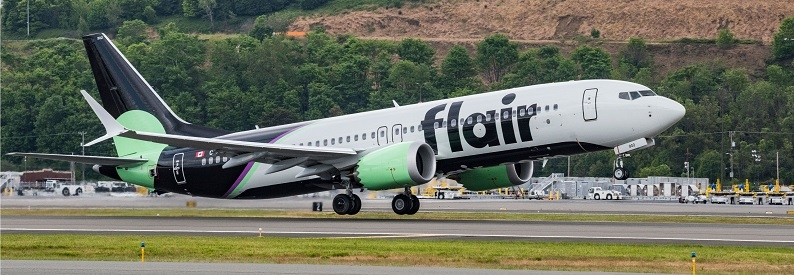 Flair Airlines Boeing 737-8 Mock-up