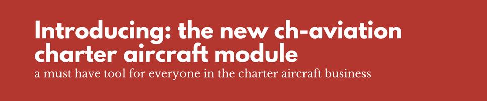 charter aircraft module