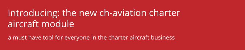the ch-aviation charter aircraft module