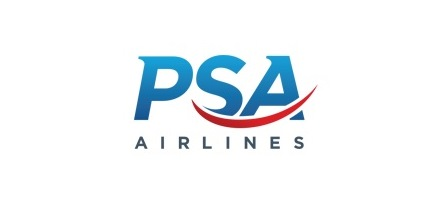 Logo of PSA Airlines