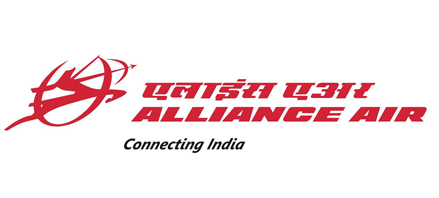 Logo of Alliance Air (India)