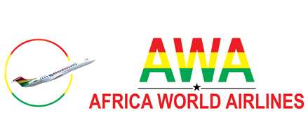 Logo of Africa World Airlines