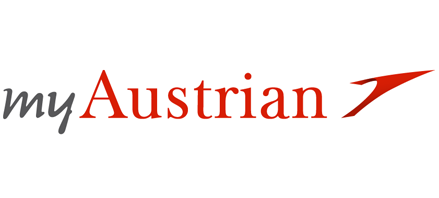 Logo of Austrian Airlines