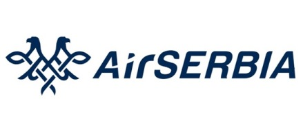 Logo of Air Serbia