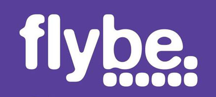 Logo of flybe.