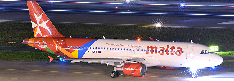Air Malta Airbus A320 at Zurich