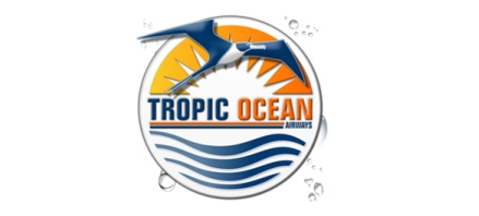 Logo of Tropic Ocean Airways