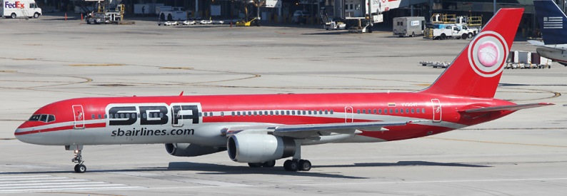 SBA Airlines Boeing 757-200 at MIA