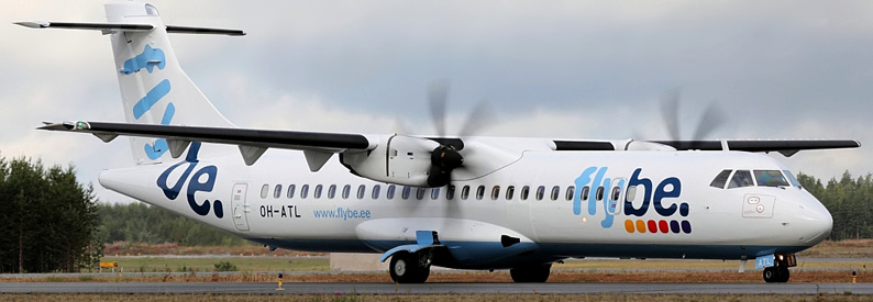 Flybe. Nordic ATR72-500 at Joensuu
