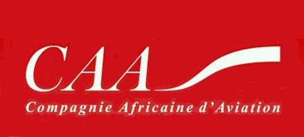 Logo of CAA - Compagnie Africaine d'Aviation