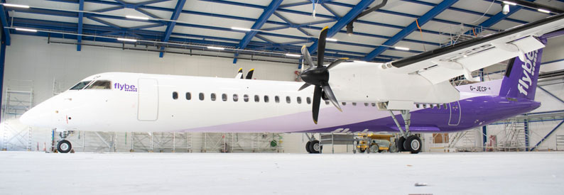 flybe. Bombardier DHC-8-Q400