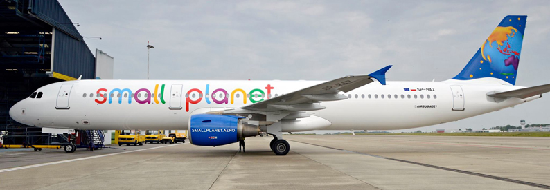 Small Planet Airlines Polska Airbus A321-200