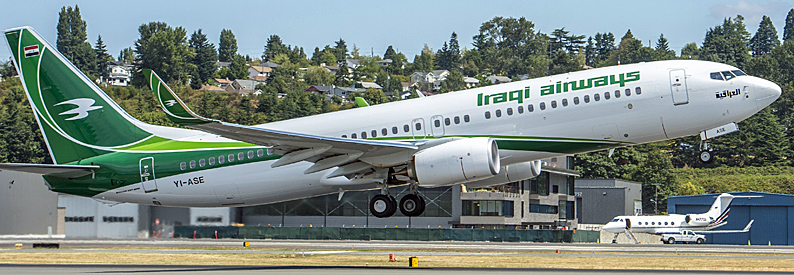 Iraqi Airways Boeing 737-800