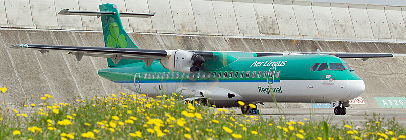 Stobart Air ATR72-600 in Aer Lingus colors