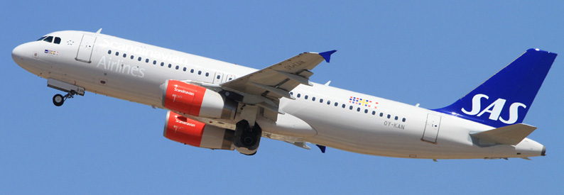 SAS Scandinavian Airlines Airbus A320-200