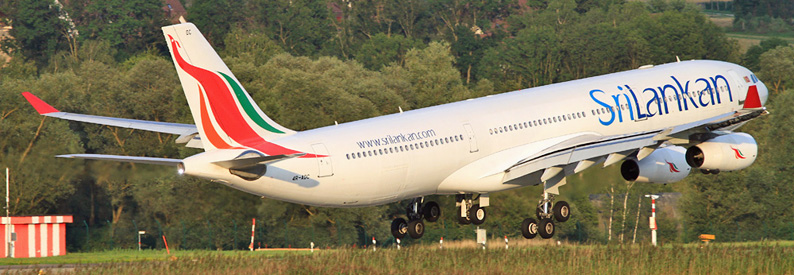 SriLankan Airlines Airbus A340-300 in Zurich