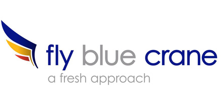 Logo of Fly Blue Crane