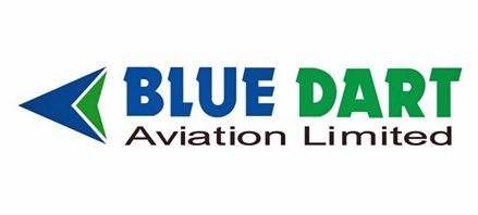 Logo of Blue Dart Aviation