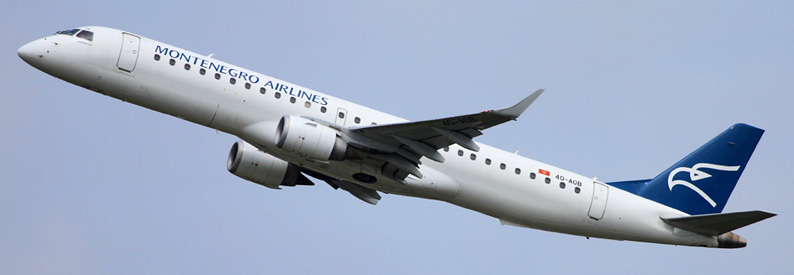 Montenegro Airlines Embraer 190-200