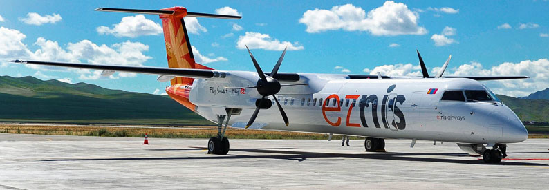 Eznis Airways Bombardier DHC-8-400
