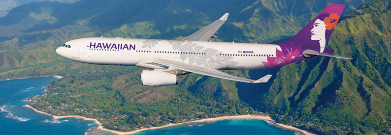 Illustration of Hawaiian Airlines Airbus A330-200
