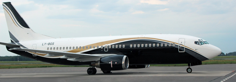 Lithuania's KlasJet adds maiden B737-300 - ch-aviation