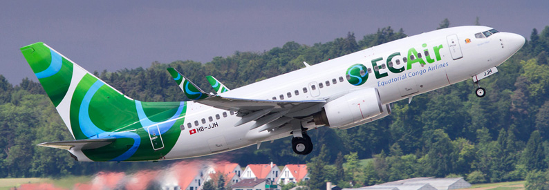 ECAIR Boeing 737-700 in Zurich