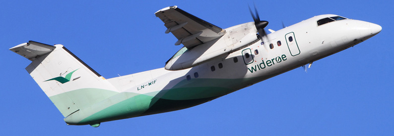 Wideroe extends the service life of five Dash 8-100s; more ...