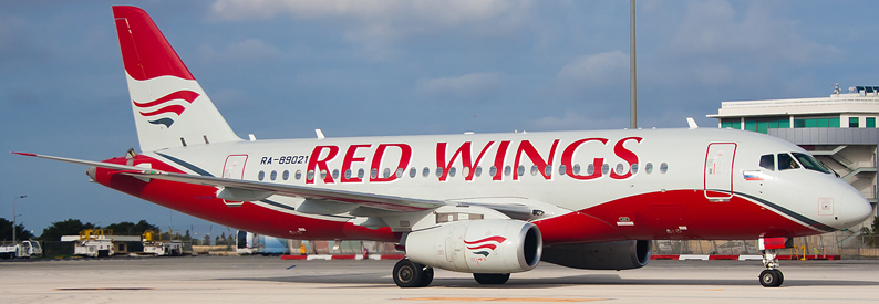 Red Wings Airlines Sukhoi SSJ100