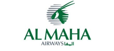 Logo of Al Maha Airways