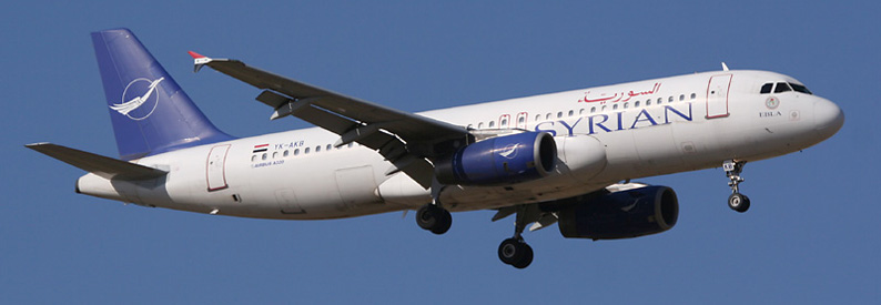 Syrianair Airbus A320-200 in MAD