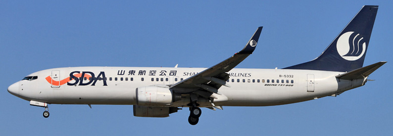 Shandong Airlines Boeing 737-800
