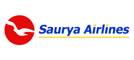 Logo of Saurya Airlines
