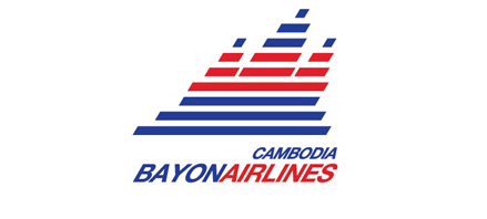 Airline Logos Starting With a Cambodia Bayon Airlines Logo