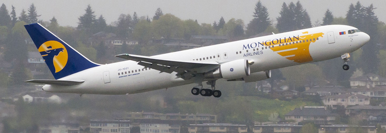 MIAT - Mongolian Airlines Boeing 767-300