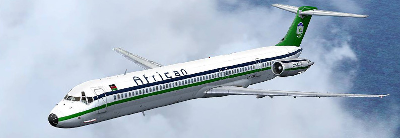 African Express Airways McDonnell Douglas MD-82