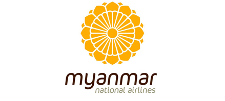 Logo of Myanmar National Airlines
