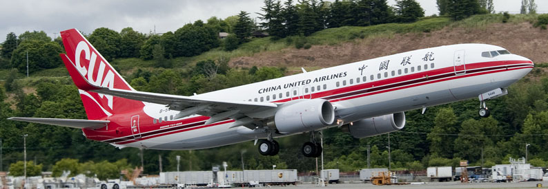 China United Airlines Boeing 737-800