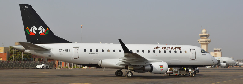 Air Burkina Embraer 170