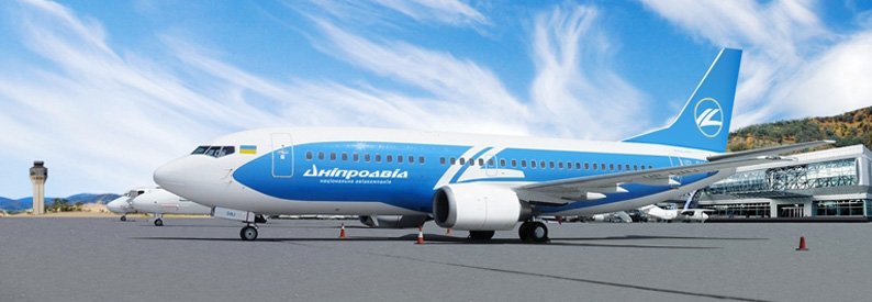 Dniproavia Boeing 737-500
