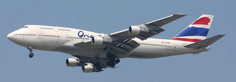 Orient Thai Airlines Boeing 747-300