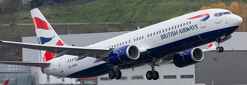Comair (British Airways livery) Boeing 737-800