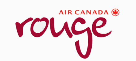 Logo of Air Canada rouge